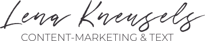 Lena Kneusels – Content-Marketing & Text