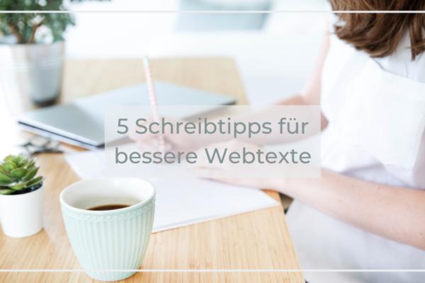 Schreibtipps Webtexte